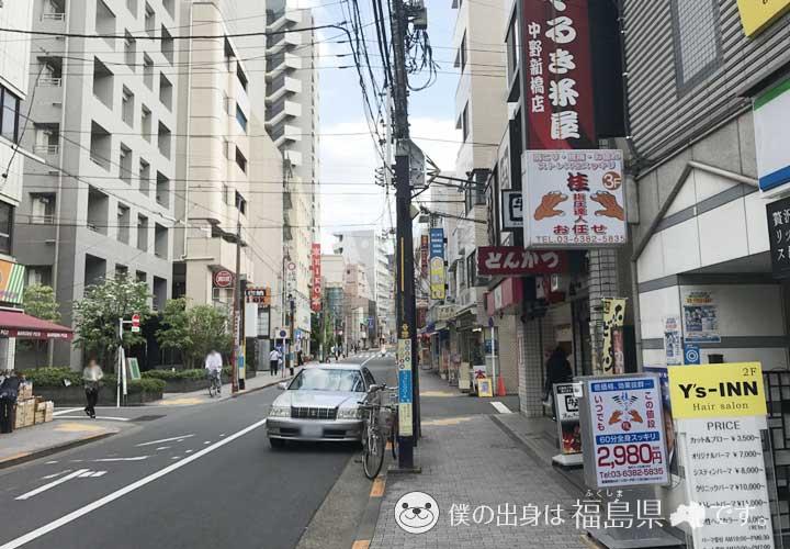 中野新橋駅前通り