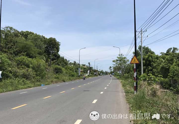 フーコック島の道
