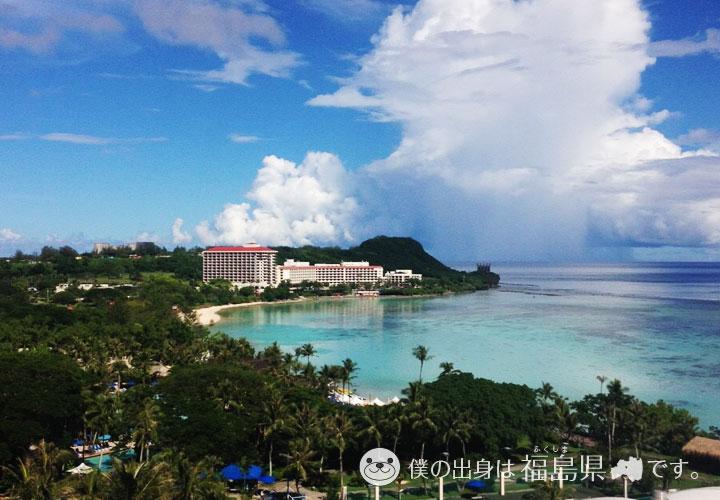 パシフィック スター リゾート&スパからの海の景色