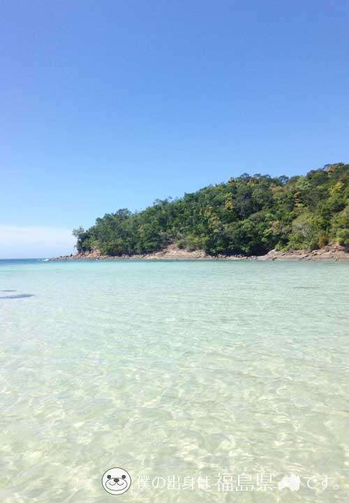 ボルネオ島のサピ島