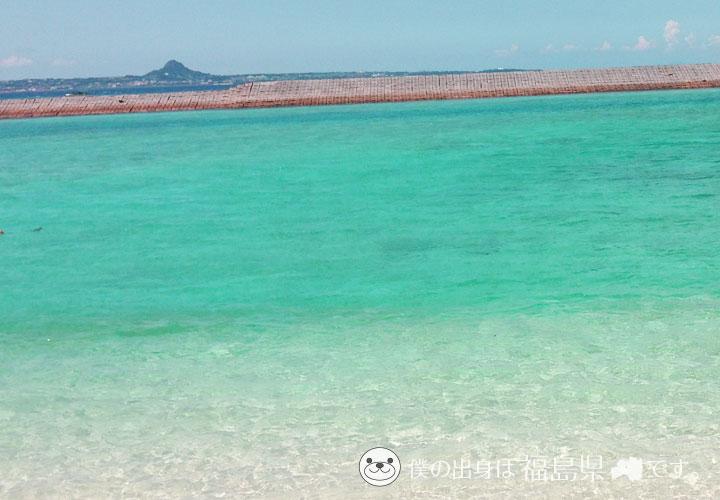 沖縄水納島の透明度抜群な海
