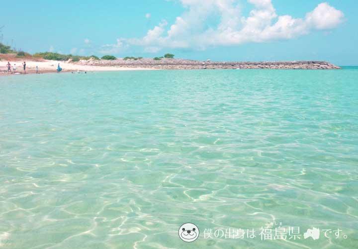 沖縄水納島の海