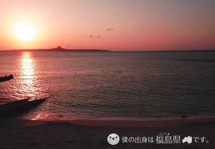 沖縄のサンセット