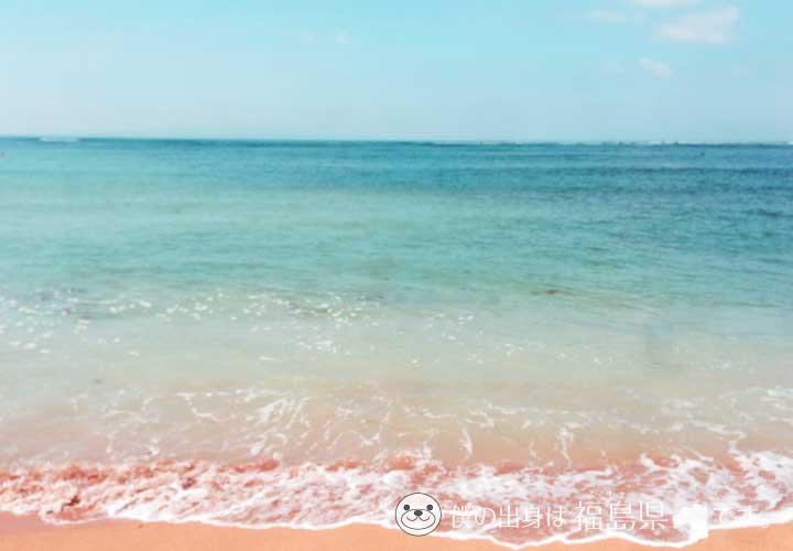 サイパンマニャガハ島の海