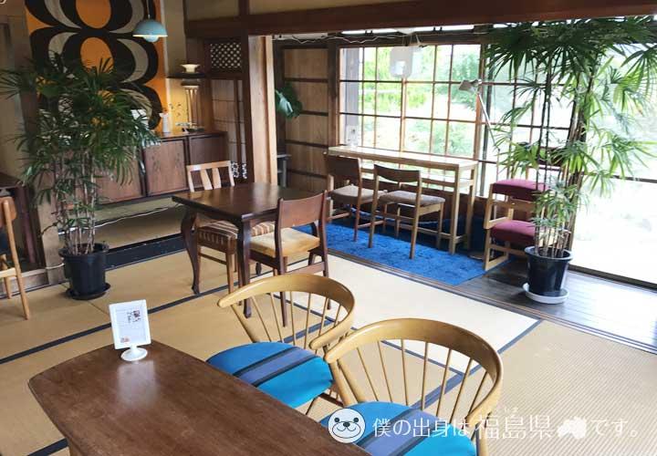 かもめ舎北欧ビンテージ&カフェの畳のお部屋
