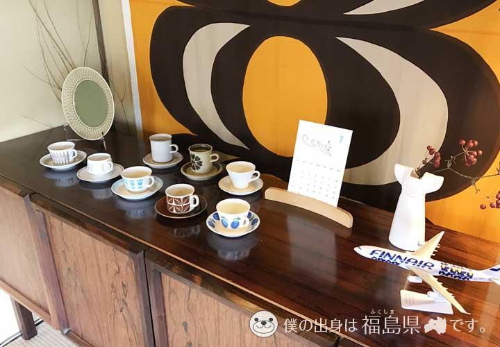 かもめ舎北欧ビンテージ&カフェの飾り物