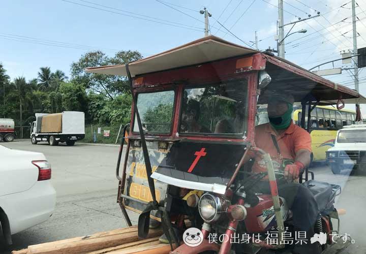 ダバオのバイクタクシー