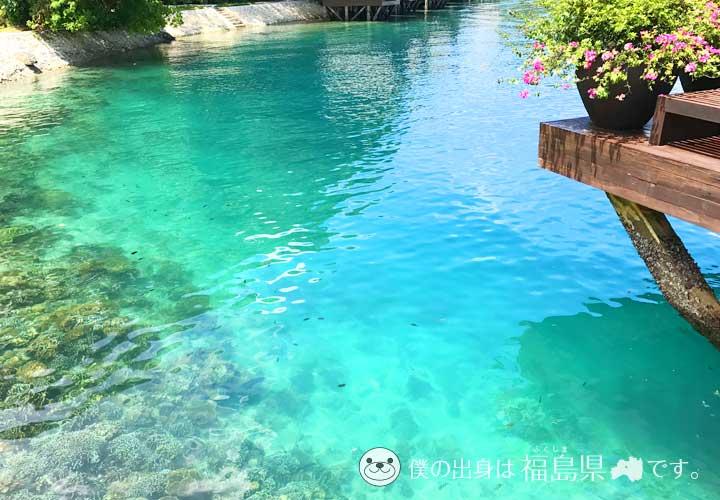 ダバオ(サマル島)の透明度抜群な海