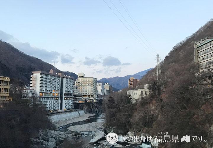 鬼怒川と旅館
