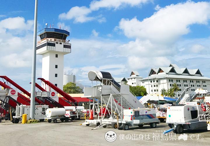 ランカウイ空港の展望施設
