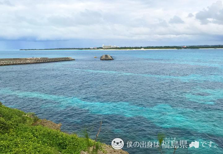 来間大橋の海