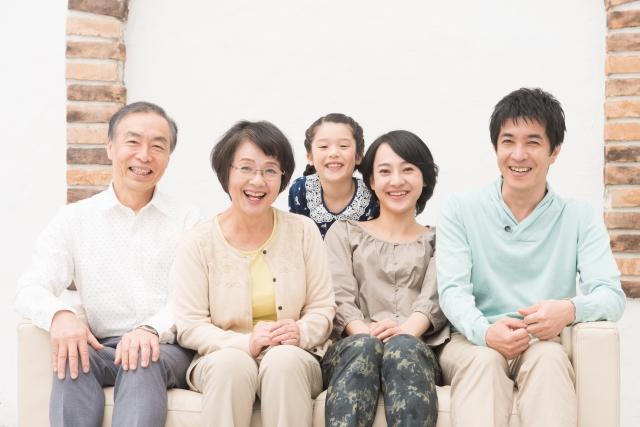 家族、子供、夫婦、カップル素材の一例