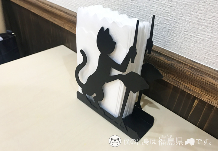 紙ナプキンの猫型の入れ物