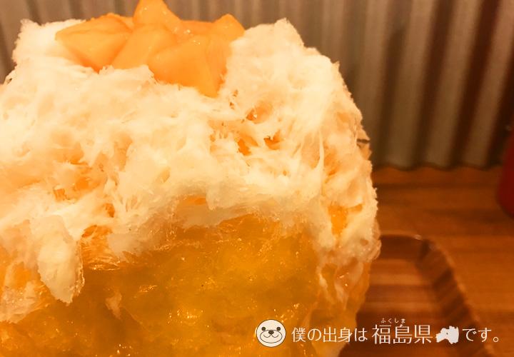 Hachiku(ハチク)のメロンかき氷