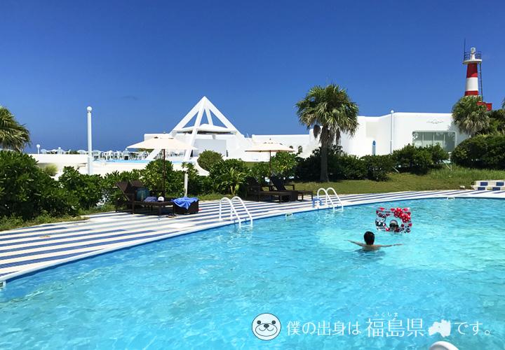 プリシアリゾートのプール
