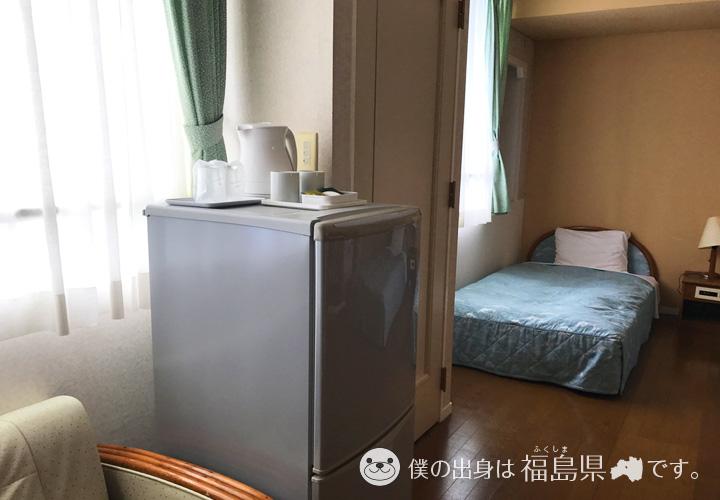 冷蔵庫と電気ポット