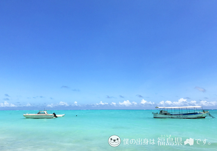 海の透明度が高いシーマンズビーチ