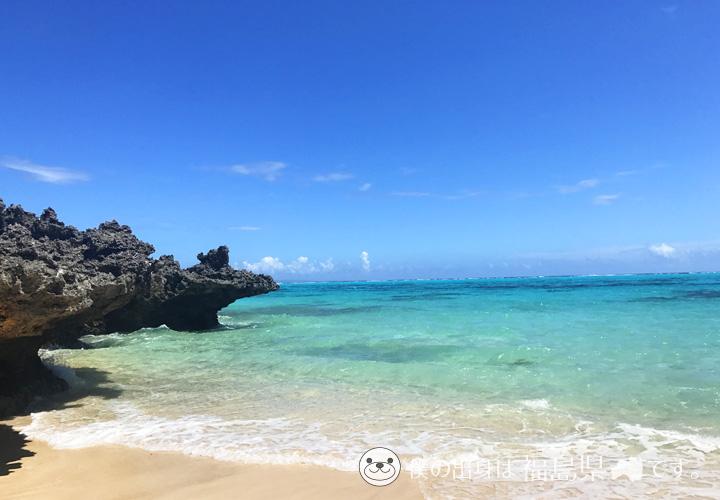 プライベートビーチの写真