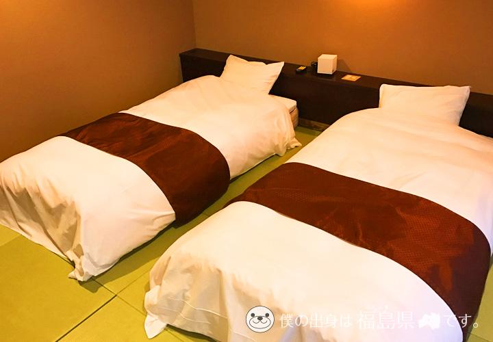 遊木の寝室