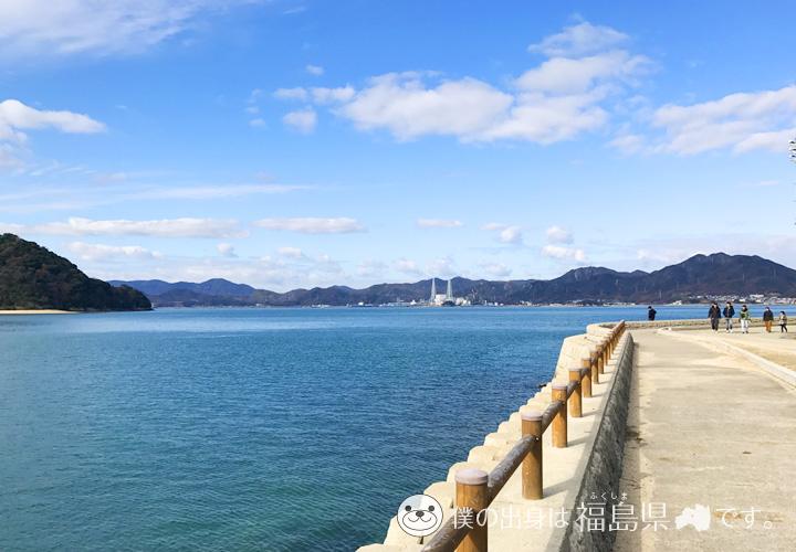 大久野島の海景色02