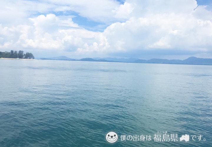 プーケットの海の景色