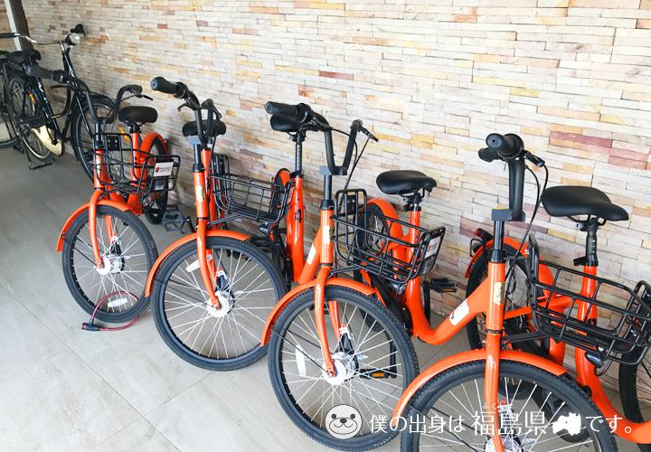 無料レンタルサイクルサービス